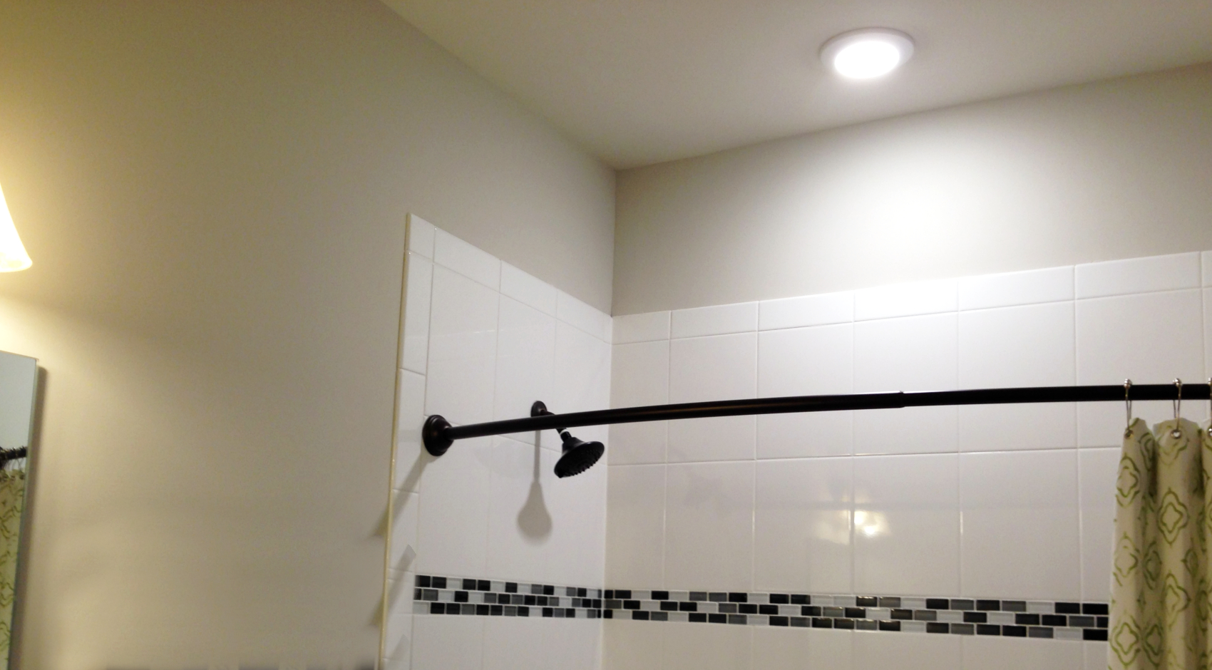 electrician for shower lighting